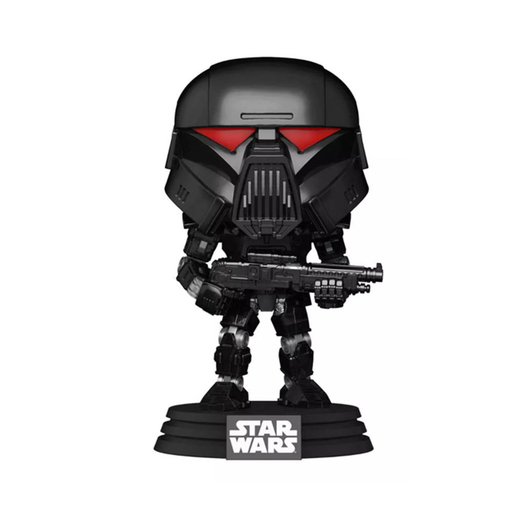 Funko Pop! figuur Star Wars: The Mandalorian Dark Trooper Battle Droid