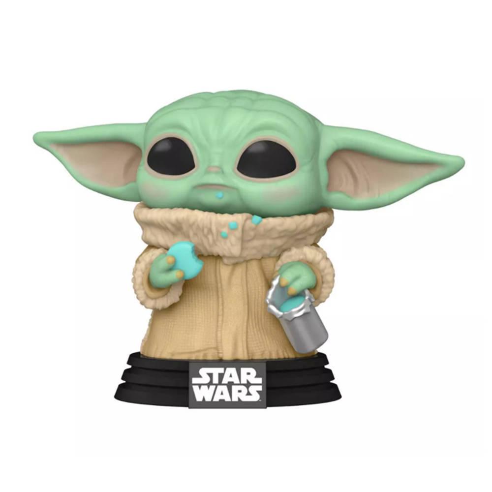 Funko Pop! figuur Star Wars: The Mandalorian The Child met koekje