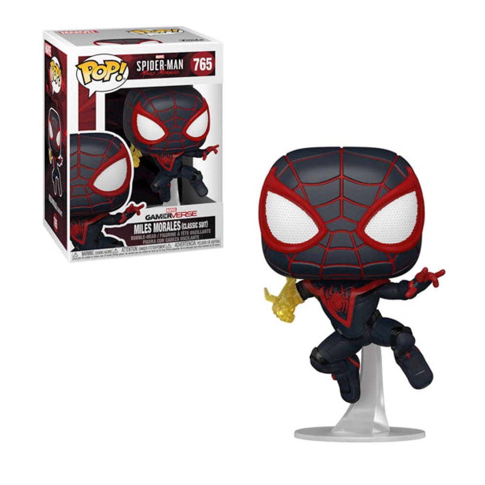 Funko Pop! figuur Marvel Spider-Man: Miles Morales Classic Suit + Chase Limited Edition