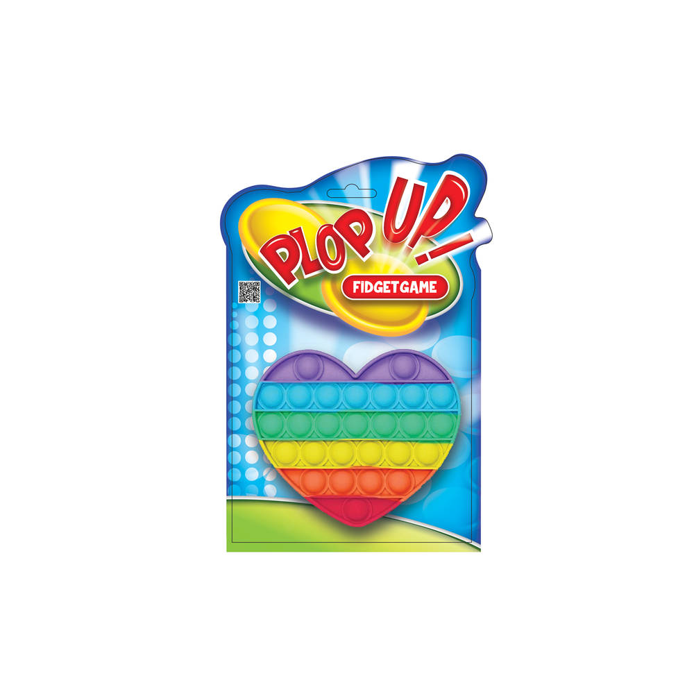 Plop Up! Hart Rainbow Fidget