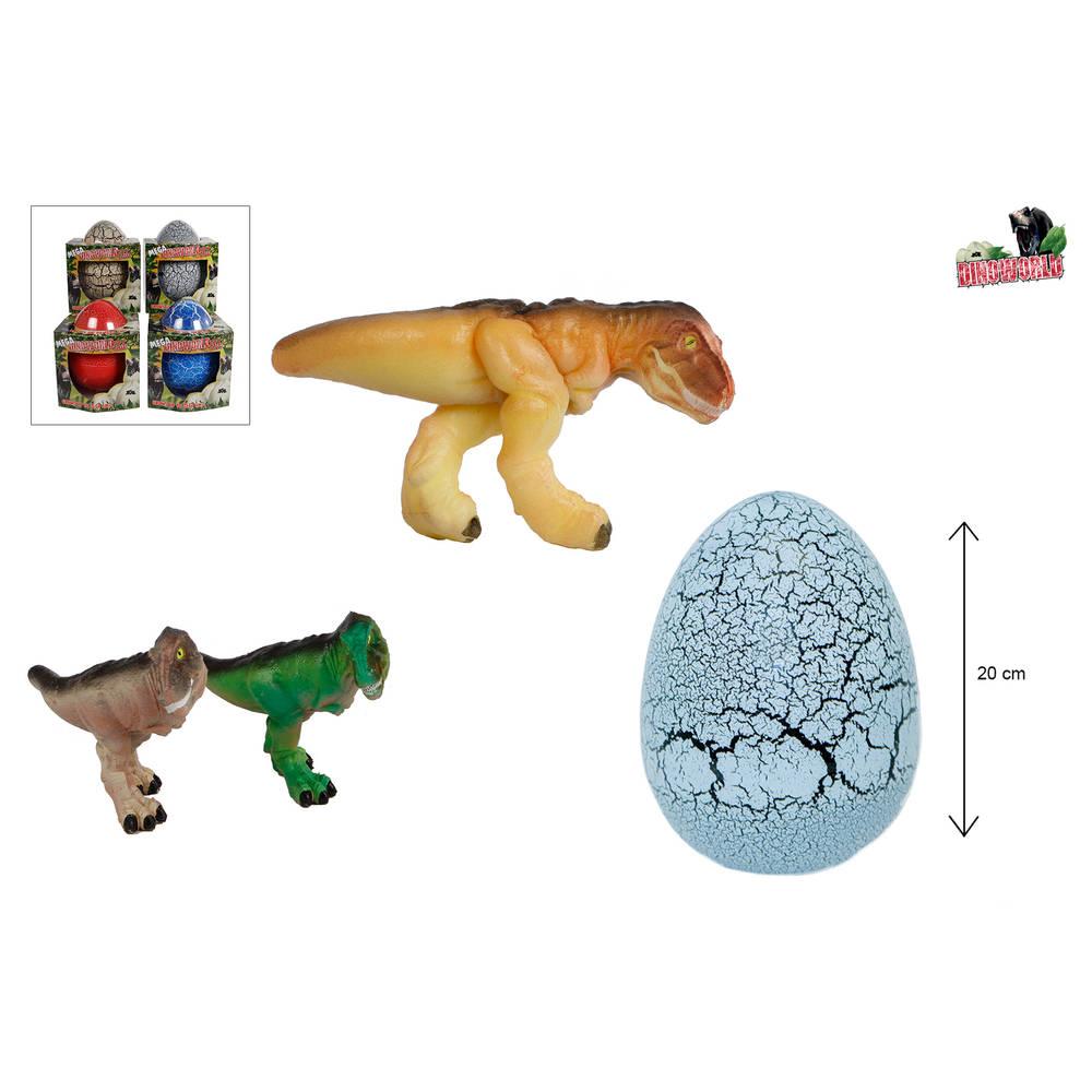 Dinoworld mega ei met groeiende dino - 20 cm