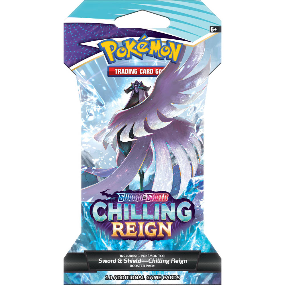 Pokémon TCG Sword & Shield Chilling Reign sleeved booster