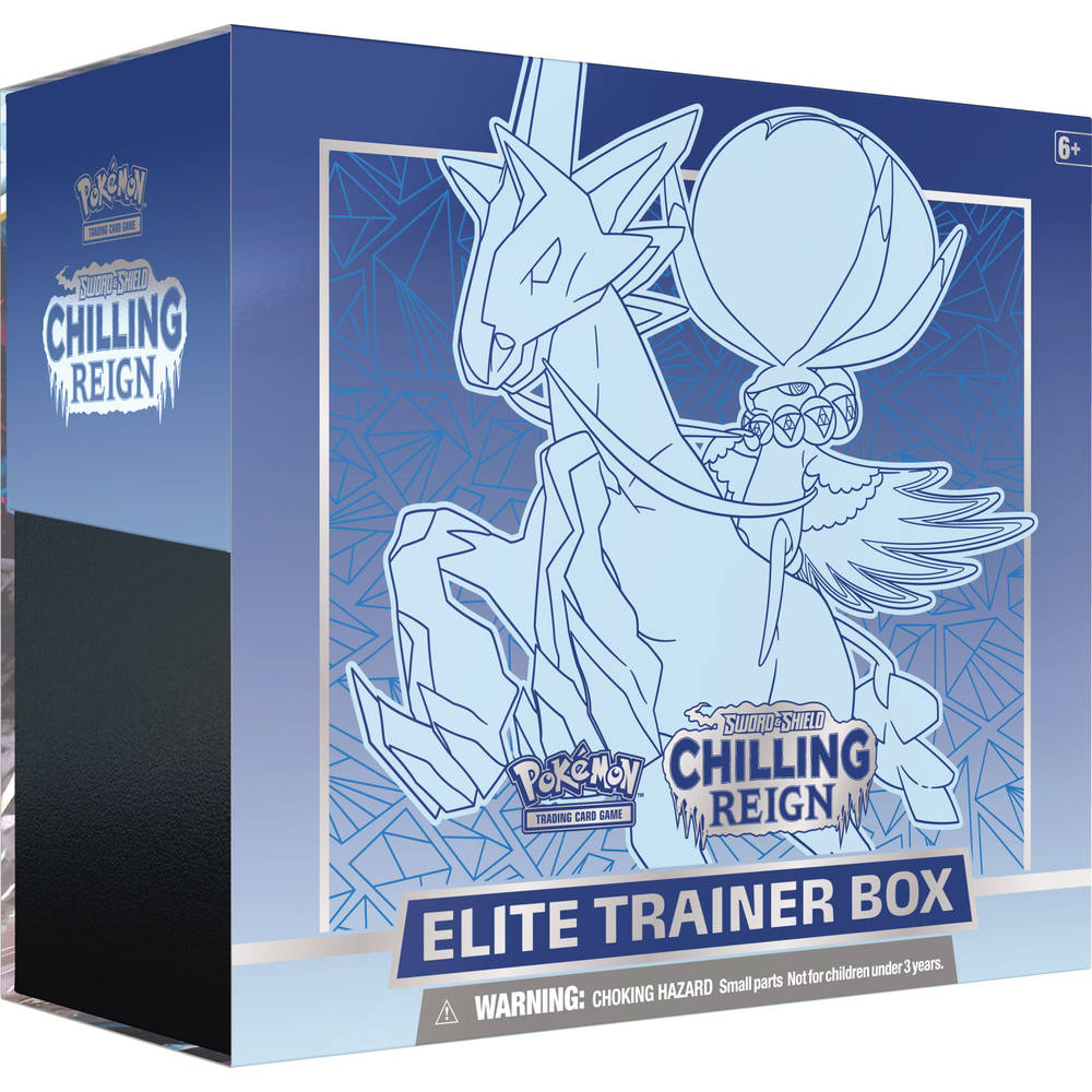 Pokémon TCG Sword & Shield Chilling Reign Elite Trainer box