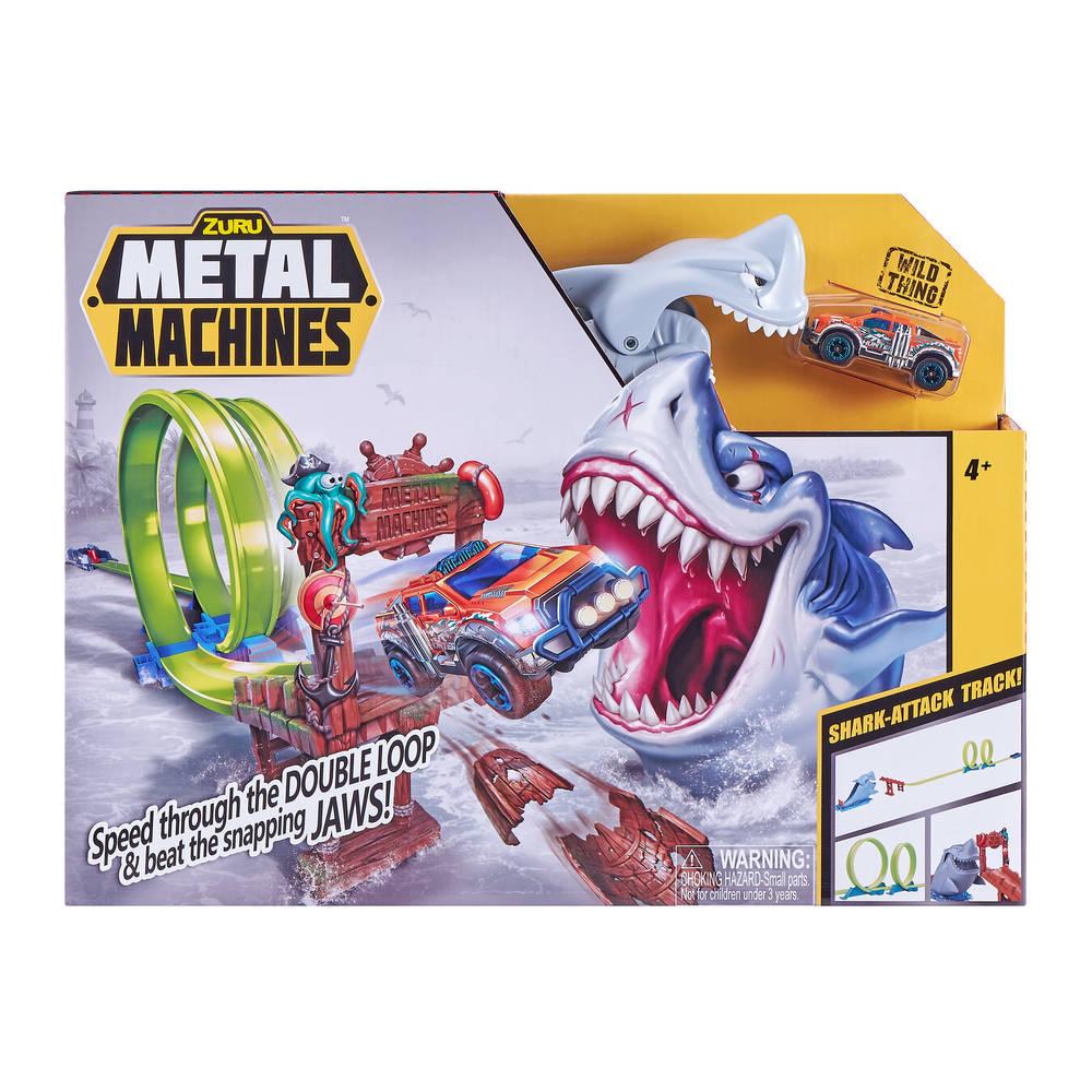 Zuru Metal Machines Shark Attack Building racebaanset