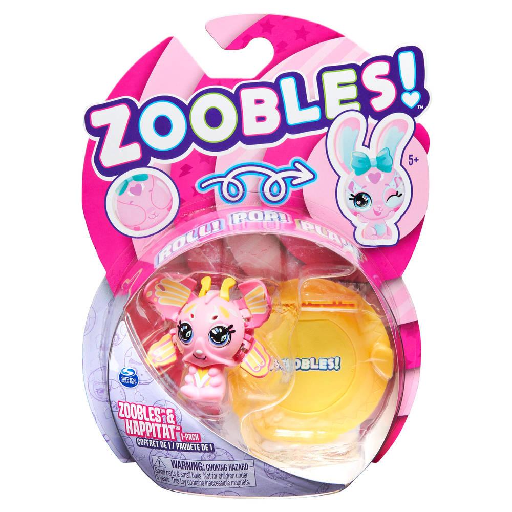 Zoobles! transformerend verzamelfiguur en Happitat accessoire