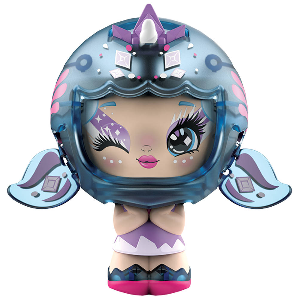 Zoobles! Z-Girlz transformerend verzamelfiguur en Happitat accessoire