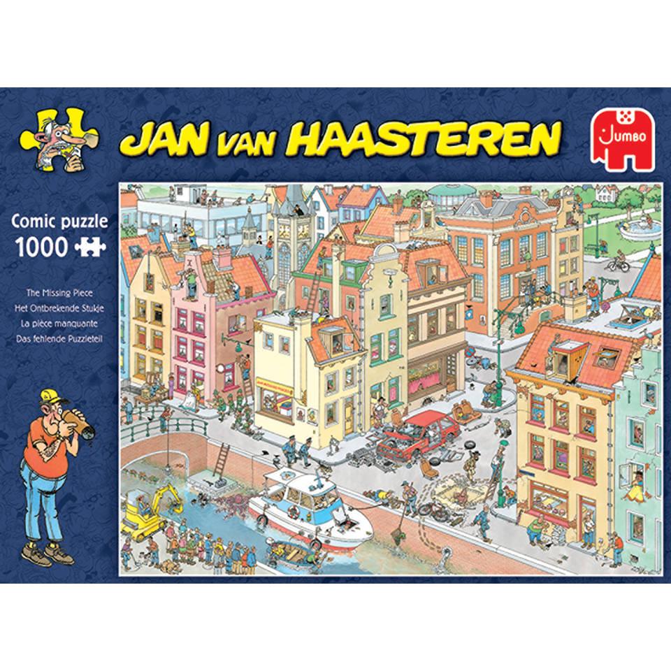 Jumbo Jan van Haasteren puzzel Het ontbrekende stukje - 1000 stukjes