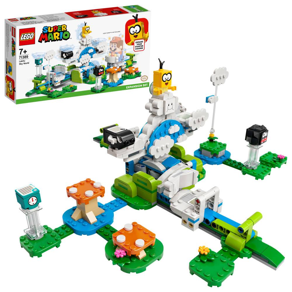 LEGO Super Mario uitbreidingsset Lakitus wolkenwereld 71389