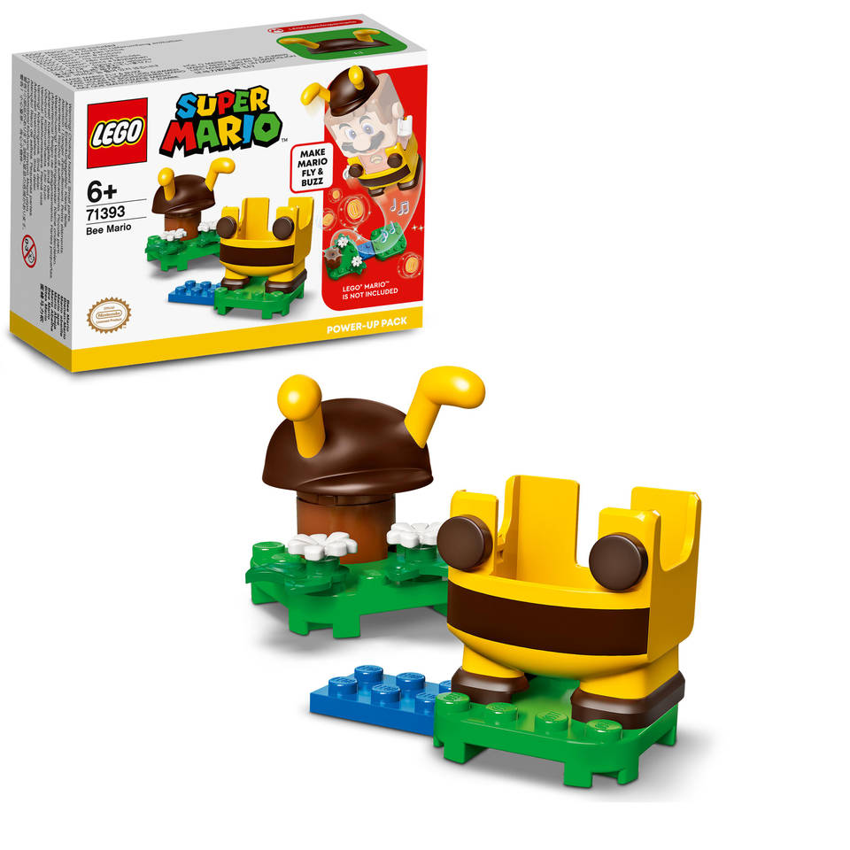 LEGO Super Mario Power-uppakket Bijen Mario 71393