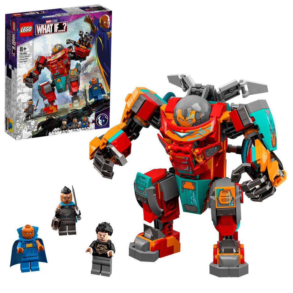 LEGO Super Heroes Tony Stark's Sakaarian Iron Man 76194