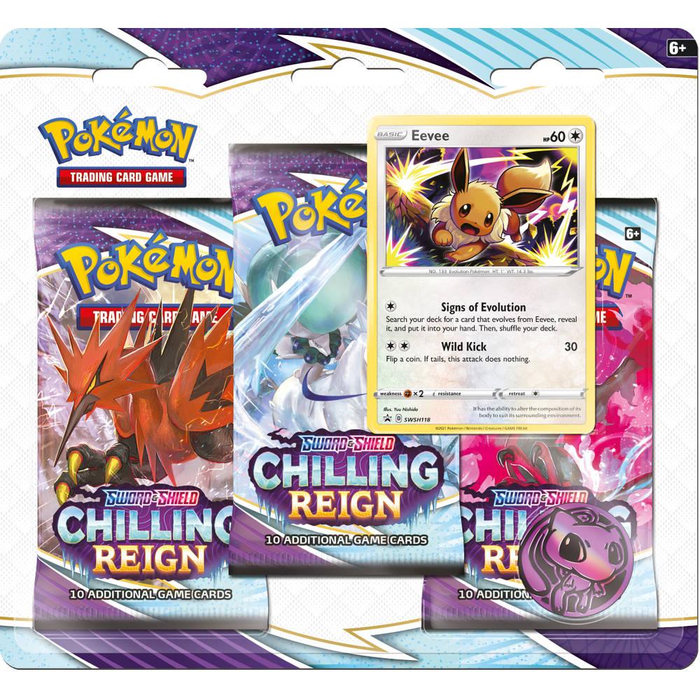 Pokémon TCG Sword & Shield Chilling Reign 3BB Eevee