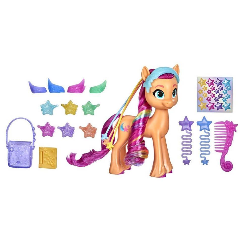 My Little Pony regenboog onthulling Sunny Starscout