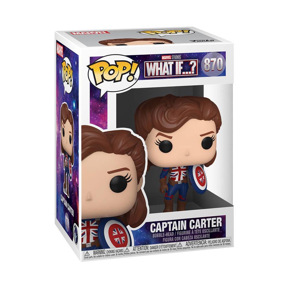 Funko Pop! figuur Marvel Studios What If Captain Carter