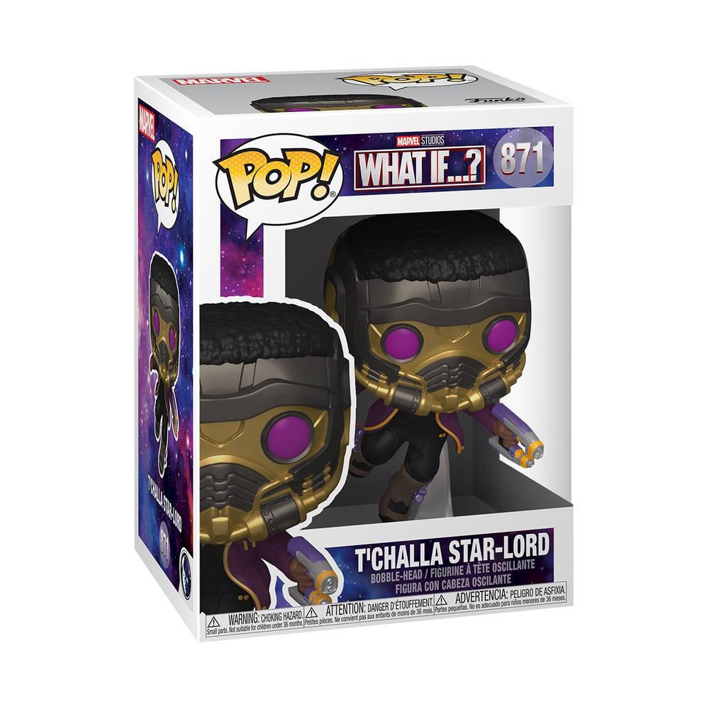Funko Pop! figuur Marvel Studios What If T'Challa Star-Lord