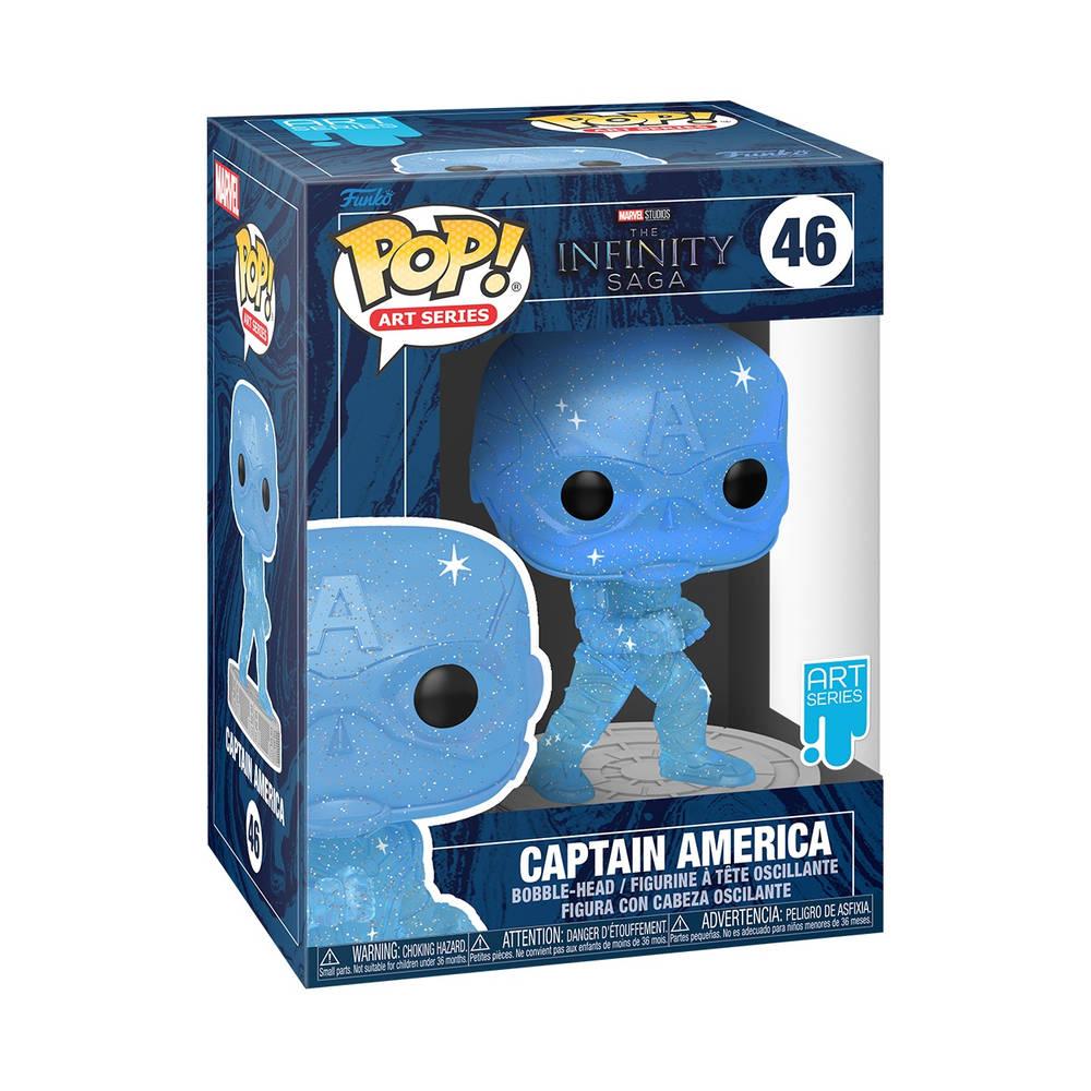 Funko Pop! figuur Art Series Marvel The Infinity Saga Captain America Limited Edition