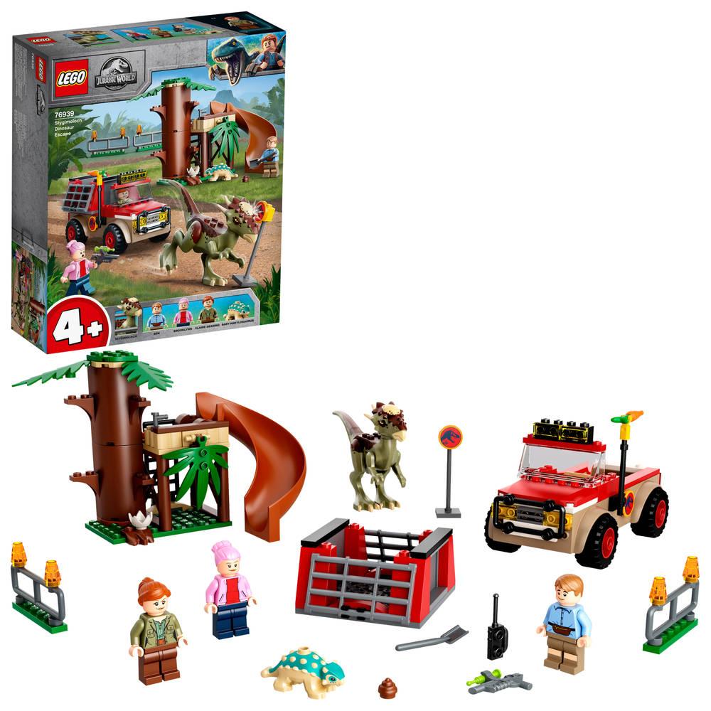 LEGO Jurassic World Stygimoloch dinosaurus ontsnapping 76939