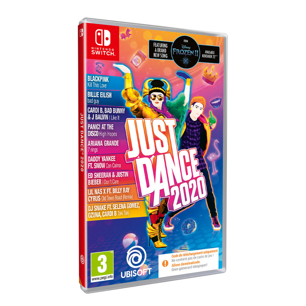 Nintendo Switch Just Dance 2020 - code in a box