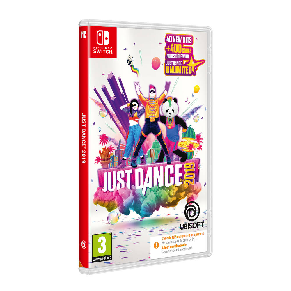 Nintendo Switch Just Dance 2019 - code in a box