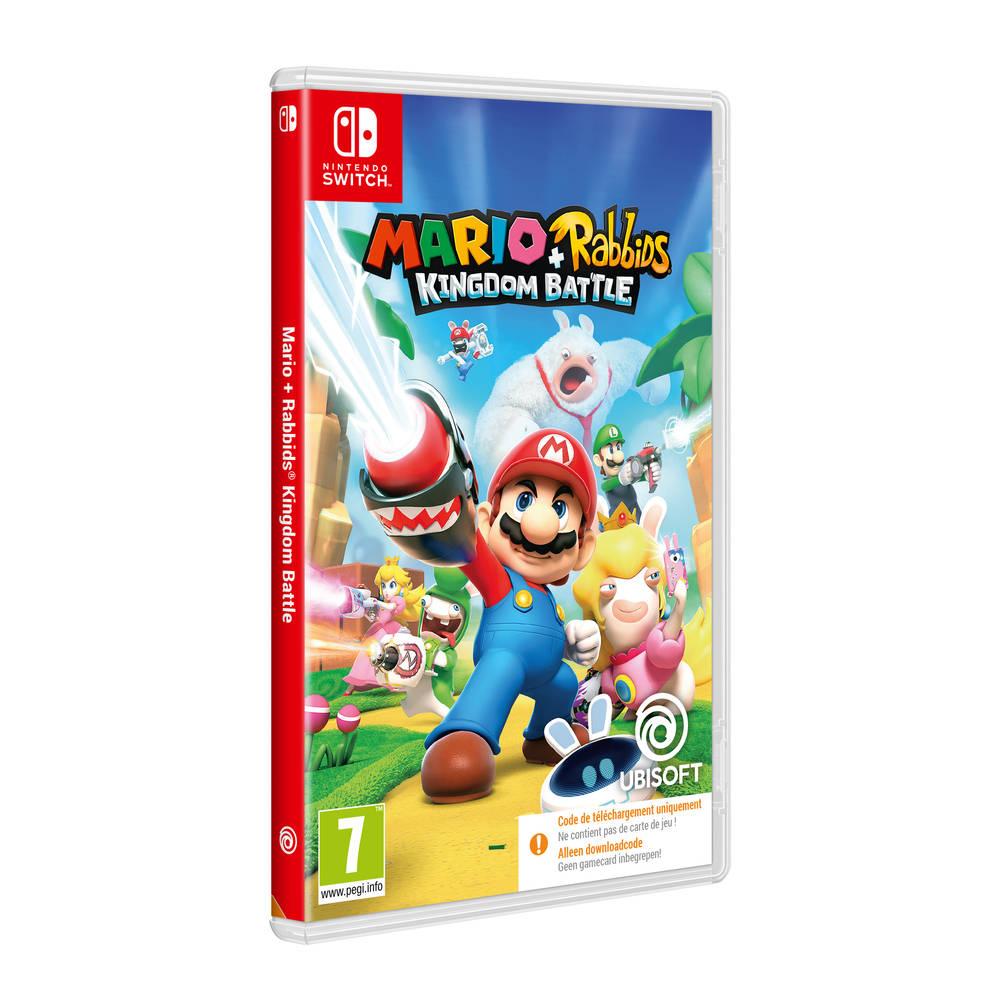 Nintendo Switch Mario + Rabbids Kingdom Battle - code in a box