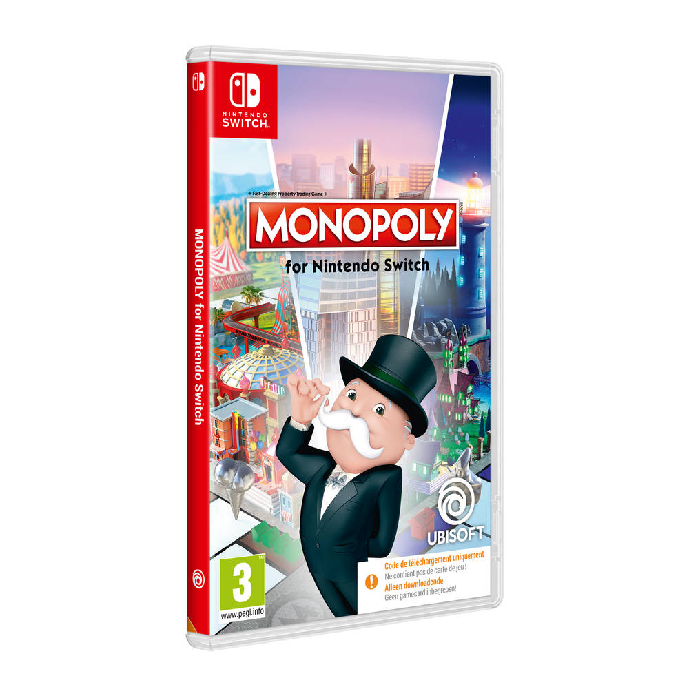 Nintendo Switch Monopoly - code in a box