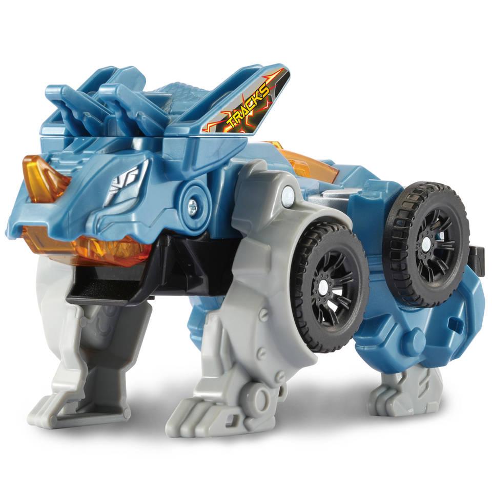VTech Switch & Go Dinos figuur Fire Tracks Triceratops