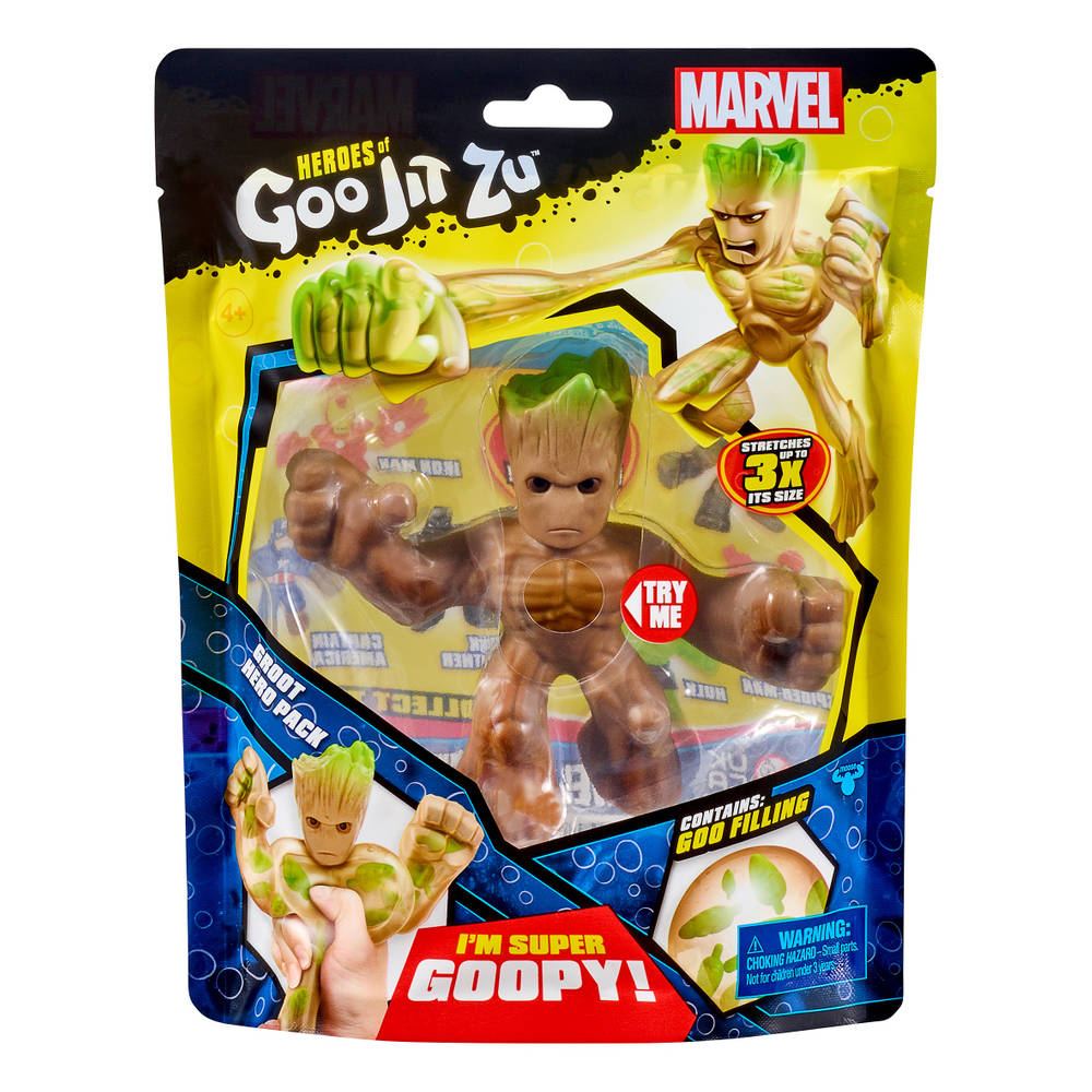 Goo Jit Zu Marvel superheld Groot