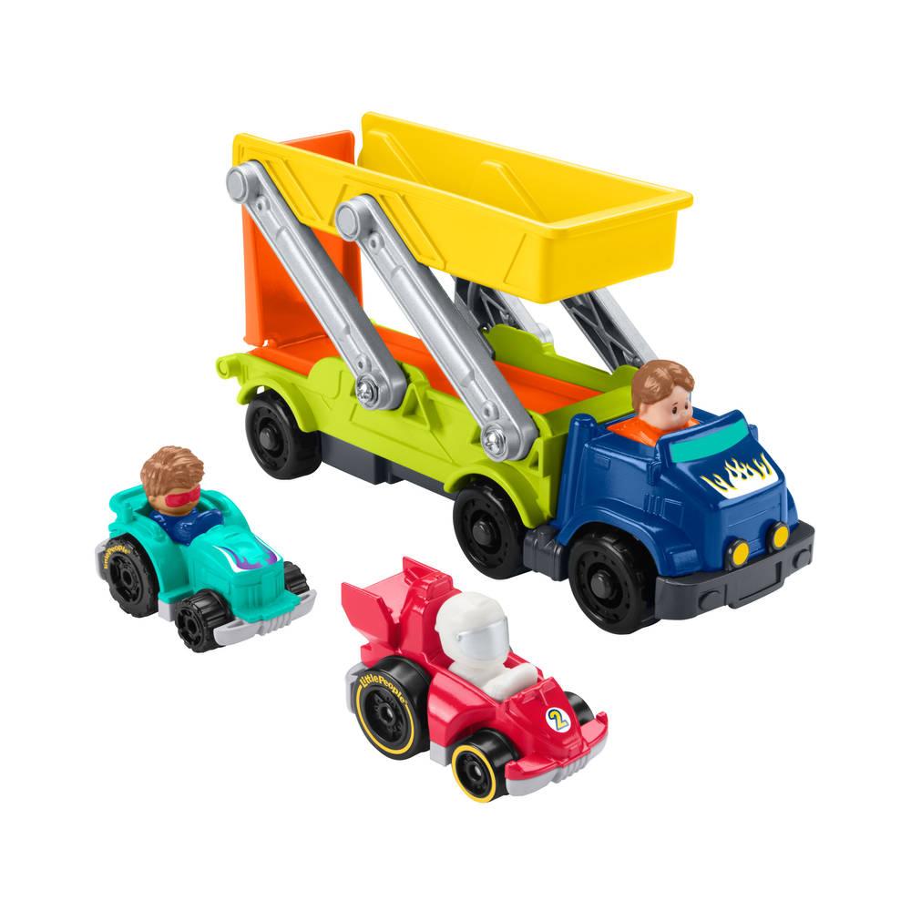Fisher-Price Little People vervoerder en helling set