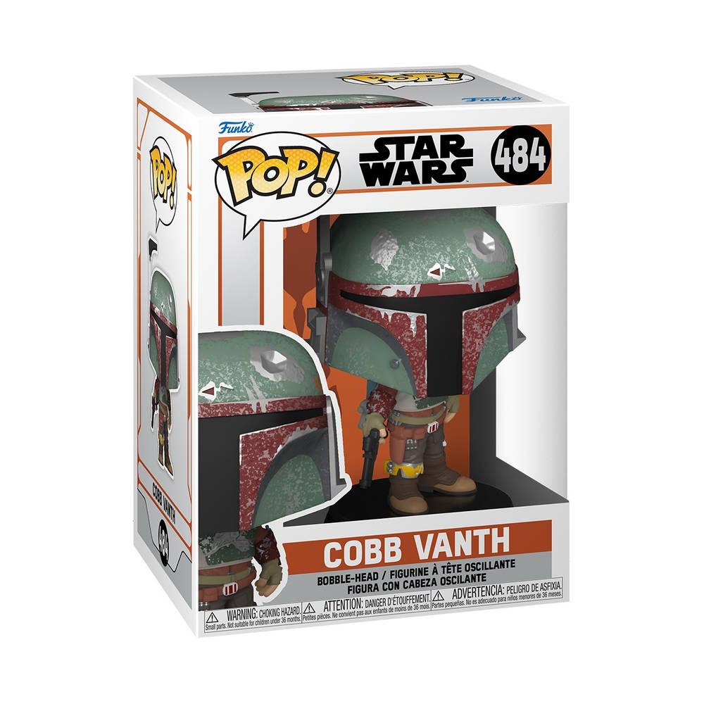 Funko Pop! figuur Star Wars: The Mandalorian Cobb Vanth