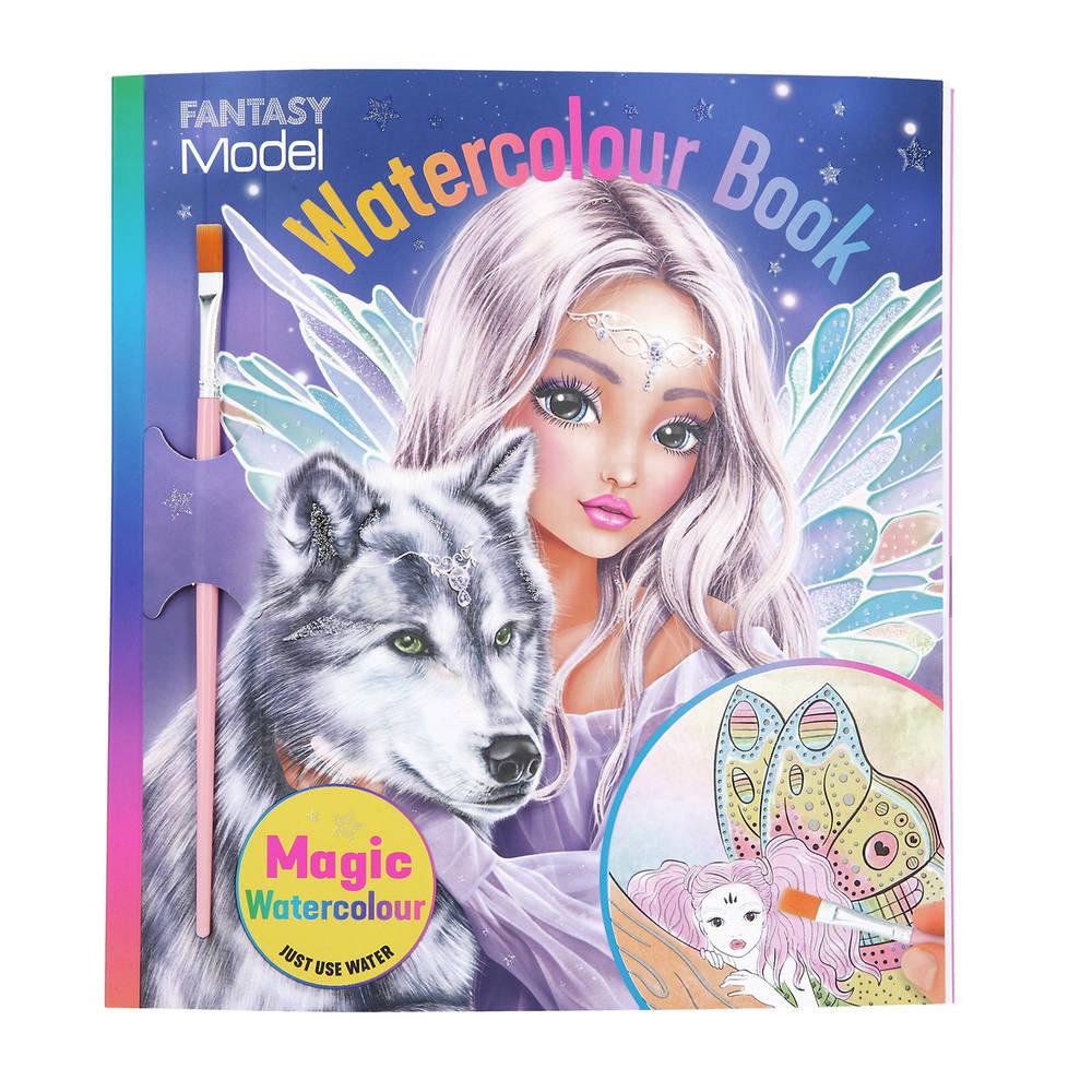 Fantasy Model fairy waterverf boek