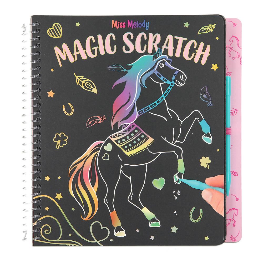 Miss Melody magic scratchboek