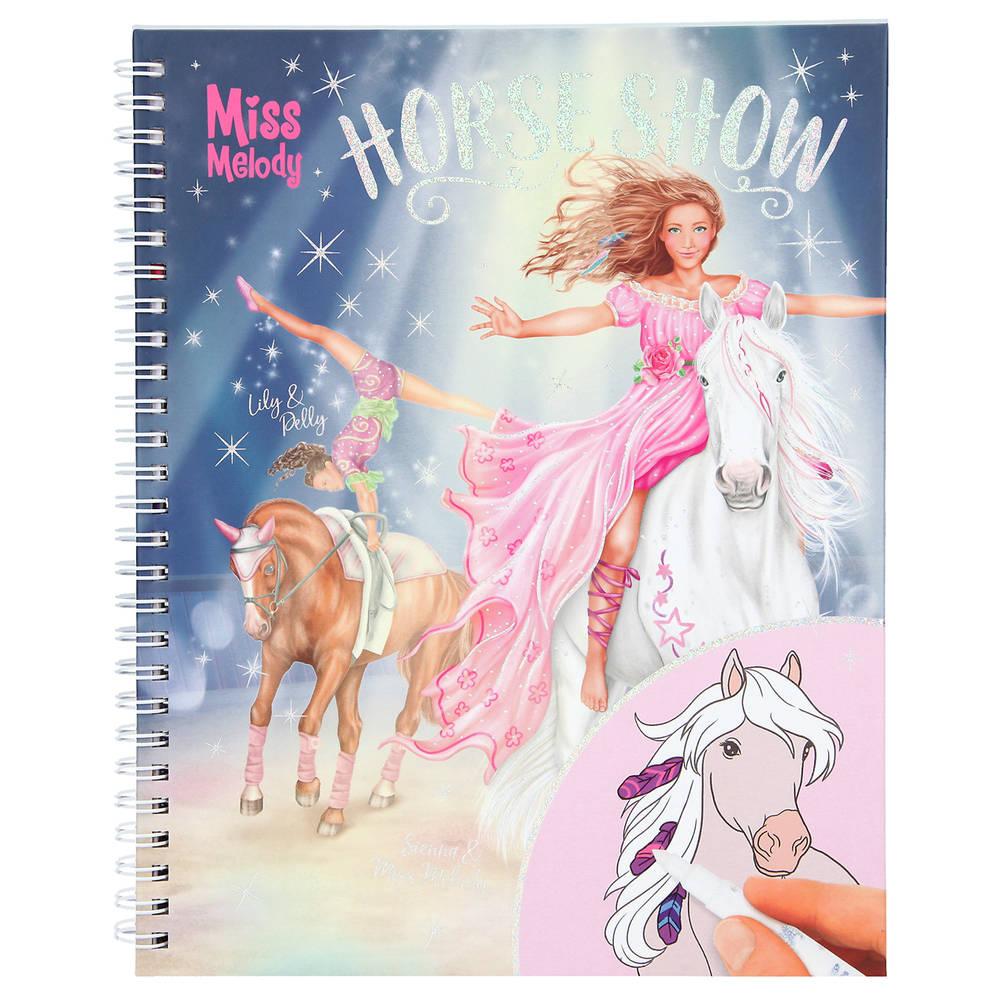 Miss Melody kleurboek met magic stiften