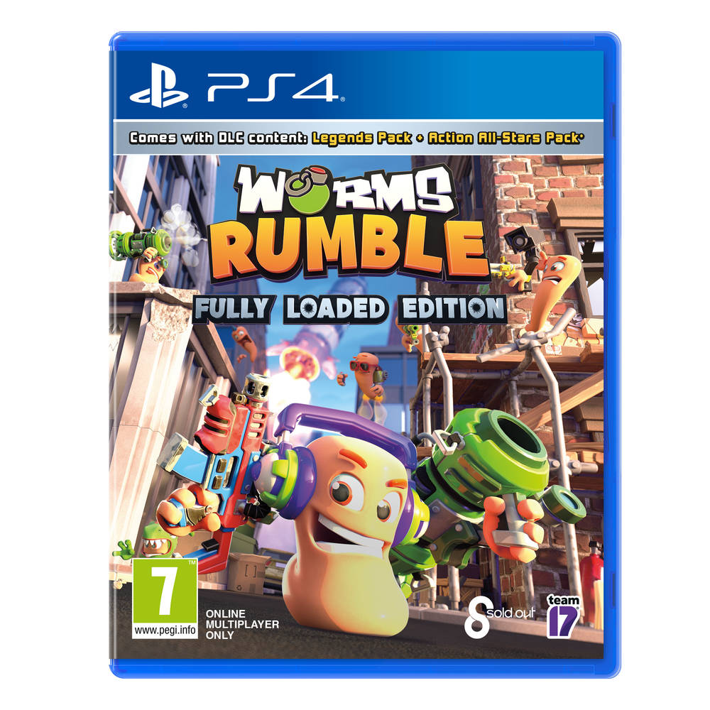 PS4 Worms Rumble
