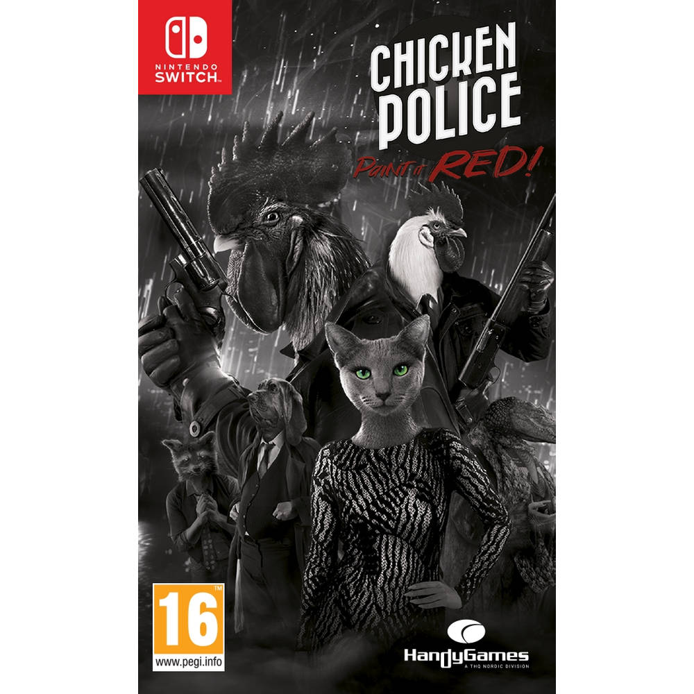 Nintendo Switch Chicken Police: Paint it Red!