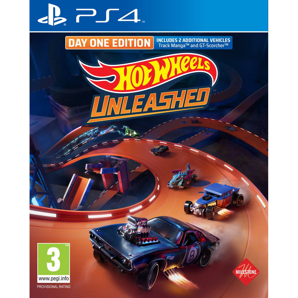 PS4 Hot Wheels Unleashed Day One Edition