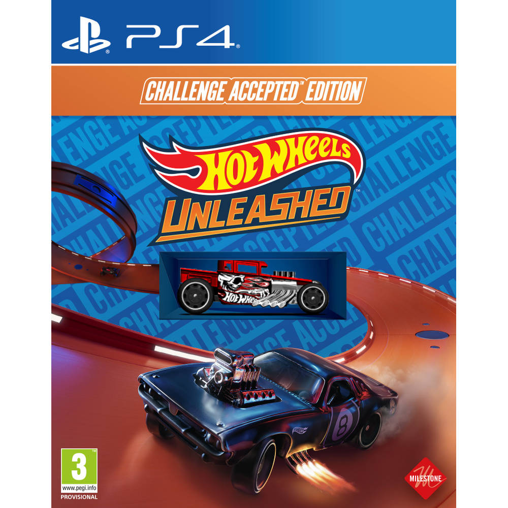 PS4 Hot Wheels Unleashed Challenge Accepted Edition