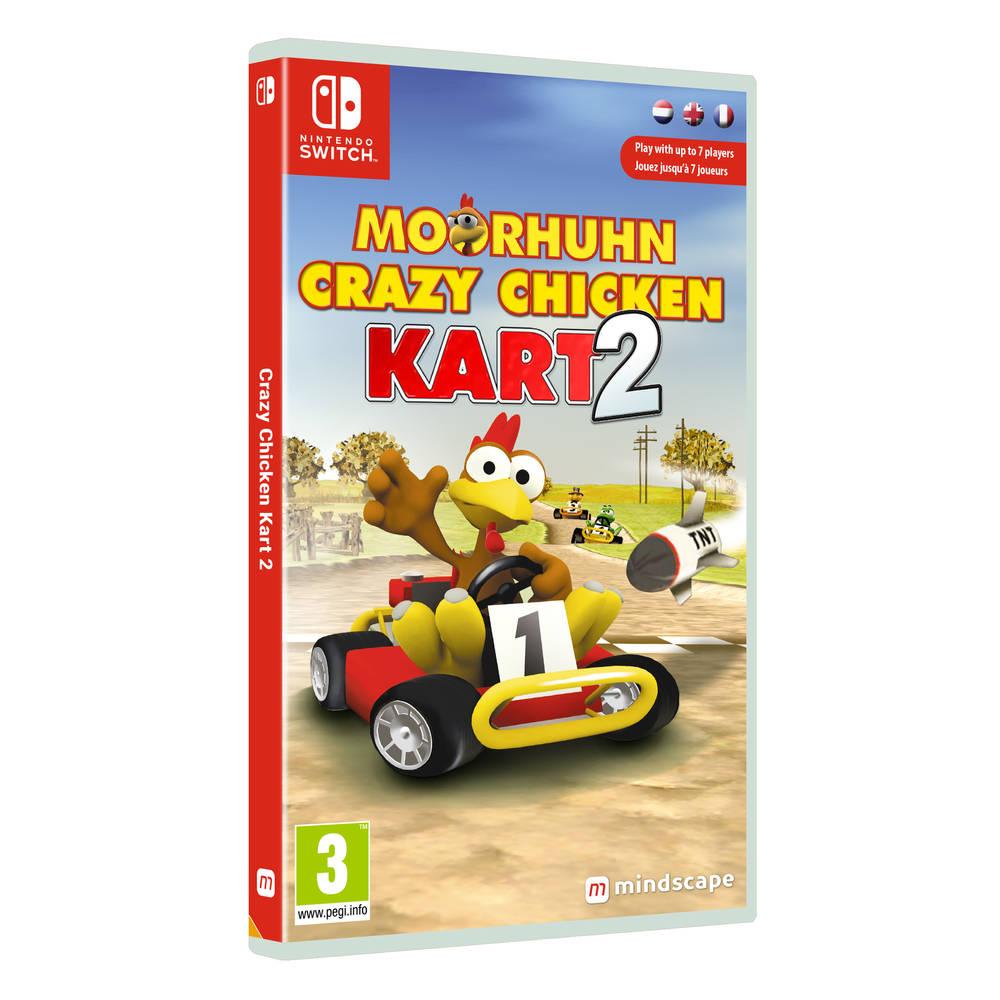 Nintendo Switch Moorhuhn Crazy Chicken Kart 2