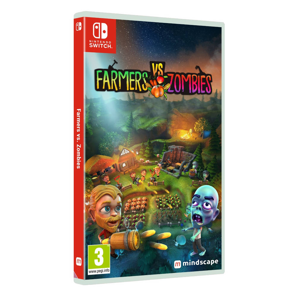 Nintendo Switch Farmers vs. Zombies