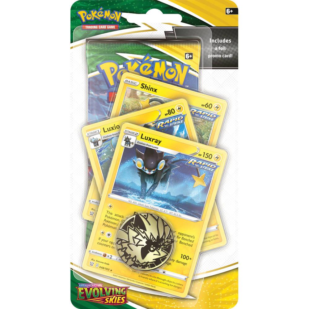 Pokémon TCG Sword & Shield 7: Evolving Skies Premium Checklane