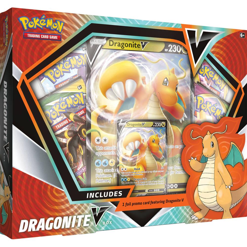 Pokémon TCG Dragonite V box