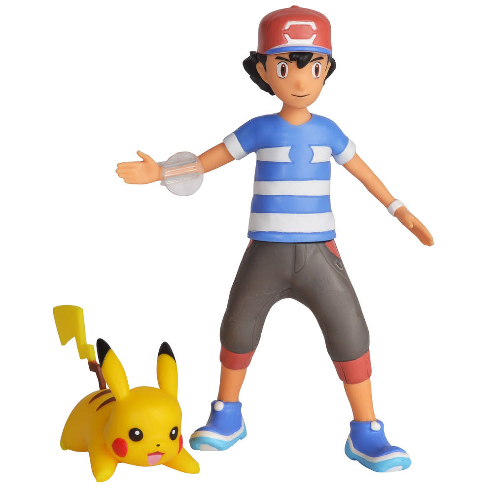 Pokémon Battle Feature Figure set Ash & Pikachu