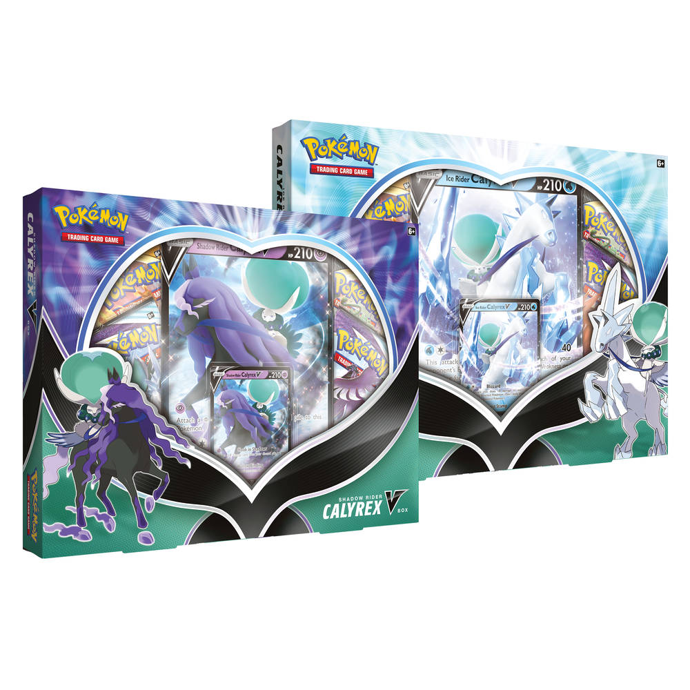 Pokémon TCG Calyrex V box Ice Rider