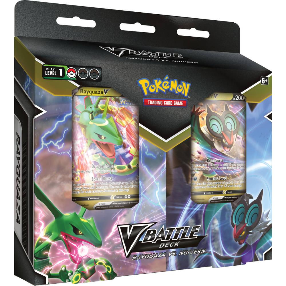 Pokémon TCG V Battle Decks Bundle Rayquaza V Noivern V