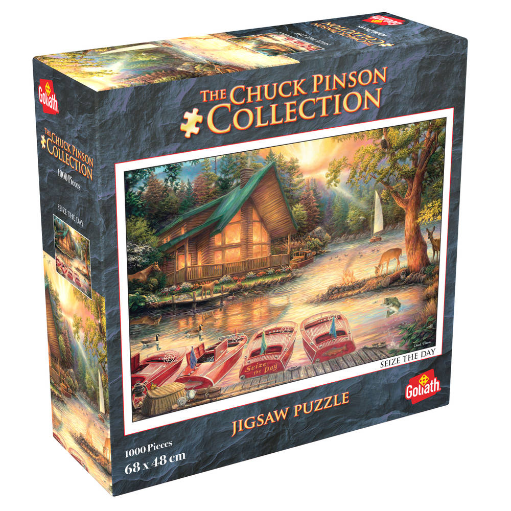 Chuck Pinson puzzel Seize the day - 1000 stukjes