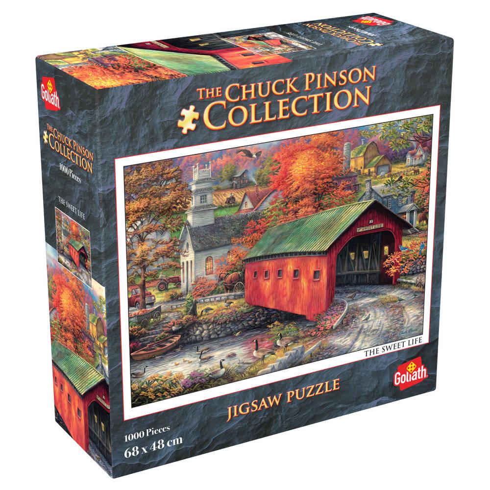 Chuck Pinson puzzel The Sweet Life - 1000 stukjes