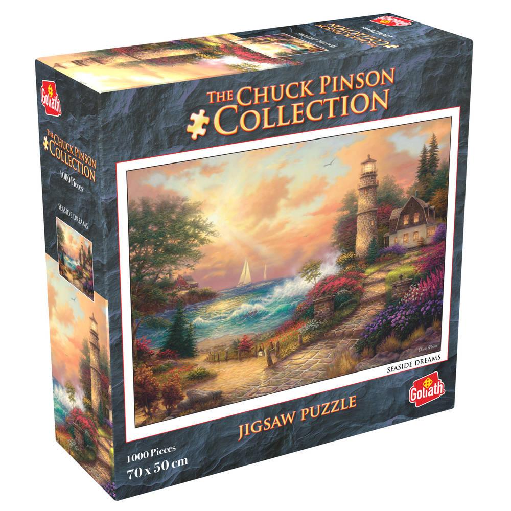 Chuck Pinson puzzel Seaside Dreams - 1000 stukjes