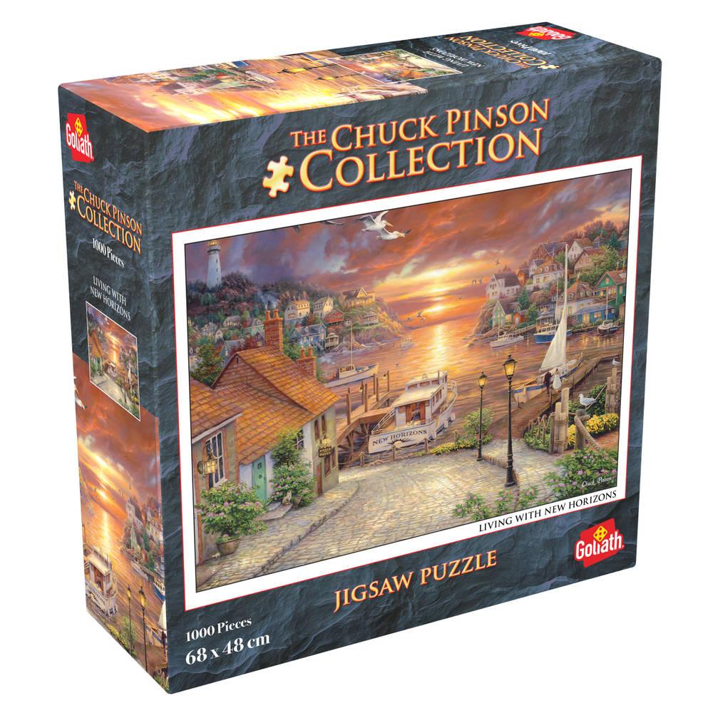 Chuck Pinson puzzel Living With New Horizons - 1000 stukjes
