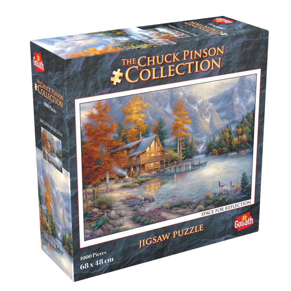 Chuck Pinson puzzel Space For Reflections - 1000 stukjes