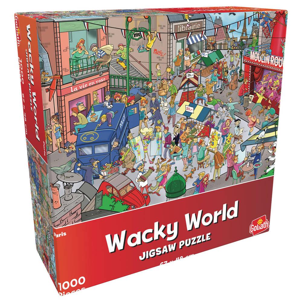Wacky World puzzel Parijs - 1000 stukjes