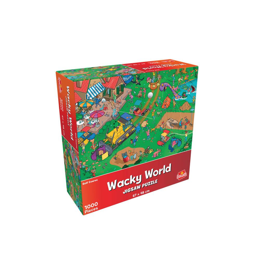 Wacky World puzzel De golbaan - 1000 stukjes