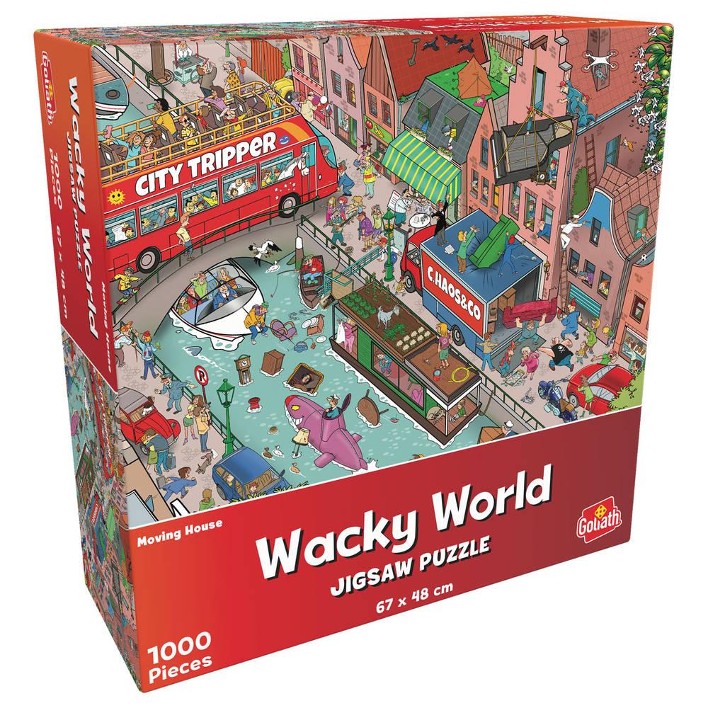 Wacky World puzzel verhuizing - 1000 stukjes